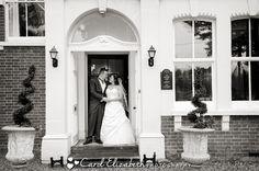 Bride and groom at Steventon House wedding