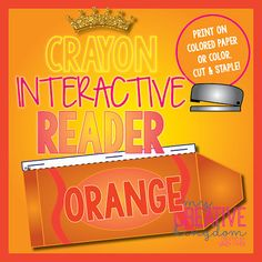 Orange Crayon Interactive Reader - My Creative Kingdom