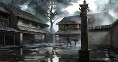 concept art for Ninja Assassin, ©2009 Warner Bros.