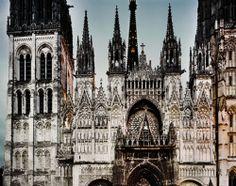Notre Dame de Rouen, Rouen, France, Guy Sargent  (via mxmwxw)