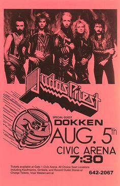 judas priest concert posters | Judas Priest movie posters at movie poster warehouse movieposter.com