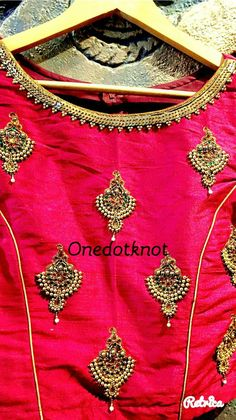 Find here the most unique blouse designs for south indian brides. From bird motifs to long sleeves, blouse for silk sarees to kanjeevarams, we have it all. Bridal Blouse Designs, Saree Blouse Designs, Blouse Styles, Simple Hairstyle For Saree, Indian Blouse, Blouse Models, South Indian Bride, Work Blouse, Blouse Dress