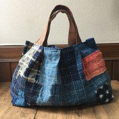 Japanese Boro Tote Bag, Tote Bag, Sashiko Bag, Japanese Boro Bag, Fabric Bag, Every Day Bag, Boho Bag, Boho Style Japanese Bag, Aizome