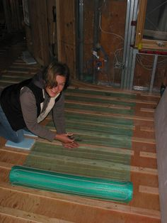 Radiant Floor Warming Electric Floor Heating UL Approved for USA