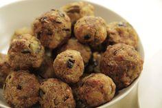 Gemüsebällchen Delicious Vegan Recipes, Snacks, Veggies, Vegetarian, Blog, Healthy, Ethnic Recipes, Dinner, Cooking
