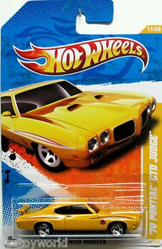 Here is a Hot Wheel that looks just like our Judge.