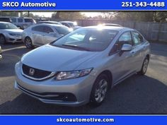 2013 Honda Civic $11950 http://www.CARSINMOBILE.NET/inventory/view/9657541