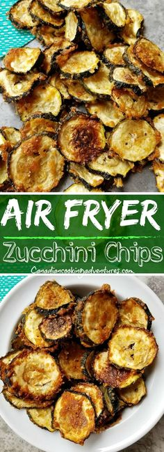 Air Fryer Zucchini Chips I wouldn't dehydrate zucchini unless I grew to. Air Fryer Zucchini Chips I wouldn't dehydrate zucchini unless I grew too many ~ keto recipes healthy Air Frier Recipes, Air Fryer Oven Recipes, Air Fryer Dinner Recipes, Air Fryer Recipes Zucchini, Healthy Zucchini Recipes, Air Fryer Recipes Vegetables, Air Fryer Recipes Vegetarian, Recipes With Eggplant And Zucchini, Paleo Eggplant Recipes