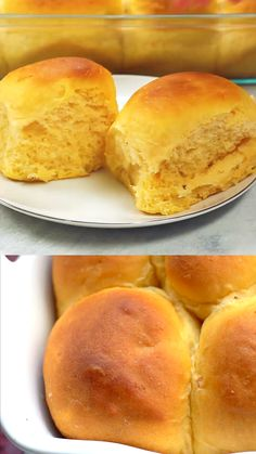 Sweet Potato Dinner Rolls are so very fluffy, soft and delicious! The recipe w.Sweet Potato Dinner Rolls are so very fluffy, soft and delicious! The recipe was extremely easy to make. I had sweet potatoes from our garden to make these, yo Sweet Potato Rolls, Sweet Potato Dinner, Sweet Potato Bread, Canned Sweet Potato Recipes, Sweet Potato Cornbread, Sweet Potato Dessert, Baby Carrot Recipes, Sweet Potato Biscuits, Sweet Potato Muffins