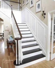 Beach Style Staircase By Norman Design Group, Inc. Photo Arrangement On The  Wall | For The Home | Pinterest | Staircases, Photo Arrangement And Walls