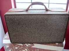 Vintage Hartmann Luggage Suitcase Mad Men Style by vintageexchange, $65.00