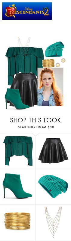 """Princess Madeline; Chapter One"" by mrsmendes2 on Polyvore featuring Stone_Cold_Fox, New Look, The North Face, Ettika, Bloomingdale's, Descendants and descendants2"