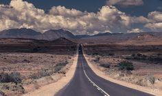 through the Karoo. Oudtshoorn - South Africa