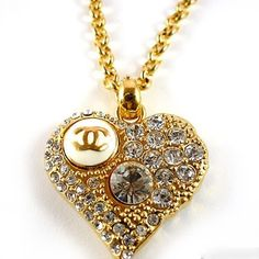 Chanel Heart Necklace ♛