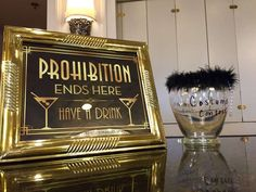 The Roaring 20's (Great Gatsby) 50th birthday party | CatchMyParty.com