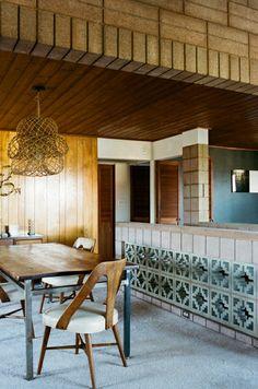 Tracy Wilkinson, Mount Washington....cinder blocks cool idea for a counter!
