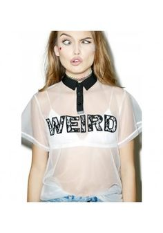 DollsKill Totally Transparent Tee Found on my new favorite app Dote Shopping #DoteApp #Shopping
