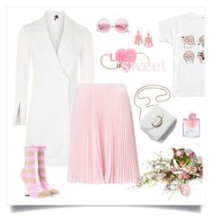 """""""pink easter  καλό Πάσχα"""" by tato-eleni ❤ liked on Polyvore featuring Topshop, Fendi, ZeroUV and Lancôme"""