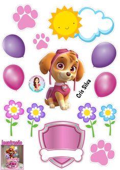 Paw Patrol Cake, Paw Patrol Party, Imprimibles Paw Patrol, Paw Patrol Birthday Girl, Cake Decorating Designs, Disney Frozen Elsa, Doraemon, Gift Packaging, Party Gifts