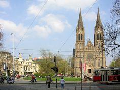 Hace 60 años había una iglesia, que se llamaba Kostel sv. Ludmily