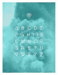 alphabet#graphic design| http://illustrationsposters.flappyhouse.com