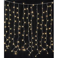 LED Light Curtain with 150 twinkle lights. This set is H x W. Each set contains fifteen drops of 10 bulbs with spacing between drops and spacing between each bulb. There is a lead from the plug to the first drop and tail after last drop. Led Curtain Lights, Icicle Lights, String Lights Outdoor, White Led Lights, Hanging Lights, Fairy Lights, Light String, Outdoor Lighting, Curtains With Lights
