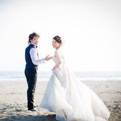 "53 Likes, 1 Comments - マリーマーブル/wedding photo&video (@wedding_marrymarble) on Instagram: ""ゲストと 大自然が祝福するウェディング . #photoby_marrymarble_ushutomo . #wedding #weddingdress #weddings…"""