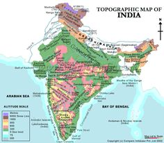 When I was studying geography in school I didn't have the luxury of referring to topographic maps like this. Sigh :(