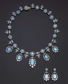 Suite Of Diamond And Opal Jewelry  c.19th century  Christie's
