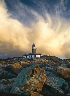 #Lighthouse - #Faro de Corrubedo (Galicia, #España)   -   http://dennisharper.lnf.com/