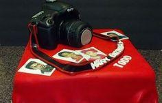 Cannon camera cake...so cool