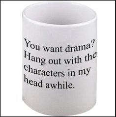 Drama/Characters mug