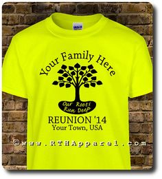 CUSTOM designed T-SHIRTS for Your Business, Group, Family or Team. Heavy Cotton Unisex, Ladies and Youth Sizes
