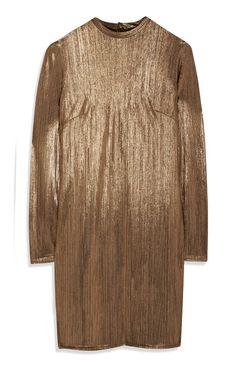 Primark - Gold Metallic Dress