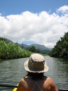 go ahead! - hanalei river Kauai, HI.