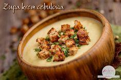 Zupa krem cebulowa | Bezglutenowe Kuchenne Wariacje Mashed Potatoes, Healthy Eating, Ethnic Recipes, Food, Meal, Essen, Hoods, Eating Healthy, Eating Well
