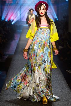 Jean Paul Gaultier Spring 2013 RTW - Review - Fashion Week - Runway, Fashion Shows and Collections - Vogue