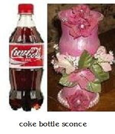 made from coke bottle