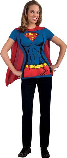 Disfraz de Supergirl. Disponible en www.vegaoo.es