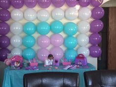 DIY Doc Mcstuffins birthday party...my 3yr old loved it and it was less than $30