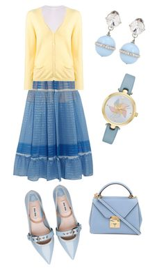 """""""Untitled #184"""" by loril4 on Polyvore featuring STELLA McCARTNEY, Miu Miu, KristenseN du Nord, Mark Cross and Kate Spade"""
