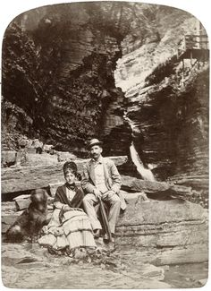 Historic photo of tourists at what is now Watkins Glen State Park Battle Of Antietam, Watkins Glen State Park, Flood Damage, Local History, New York Travel, Plan Your Trip, Wine Country, Historical Photos, Best Hotels