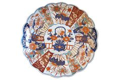 Antique Japanese  Porcelain Charger on OneKingsLane.com
