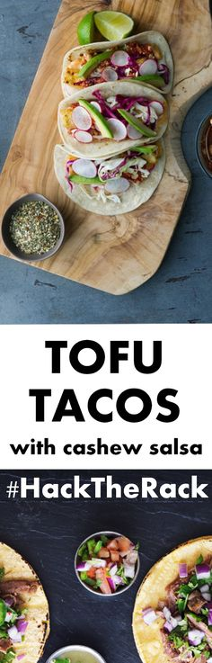 With The Spice Hunter Mexican Seasoning Blend, simple tofu is transformed into a zesty taco base from south of the border. #HackTheRack