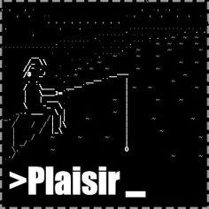 Plaisir - text adventure with ASCII art