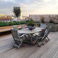 Roof terrace artific