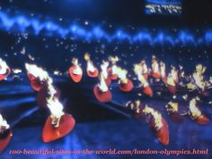 London Olympics 2012. The small parts (copper petals) of the main torch (caldron)
