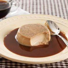 Espresso Mascarpone Panna Cotta with Expresso Caramel Sauce