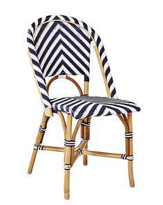 Chevron Riviera Side Chair | Indoor/Outdoor Furniture