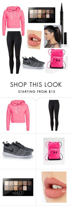 """Gym outfit"" by pinkdiamond24 ❤ liked on Polyvore featuring Only Play, Puma, NIKE, Maybelline, Charlotte Tilbury and Elizabeth Arden"